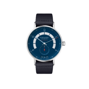 Autobahn neomatik 41 date midnight blue with strap (ref. 1302)