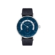 Autobahn neomatik 41 date midnight blue with strap (ref. 1302)
