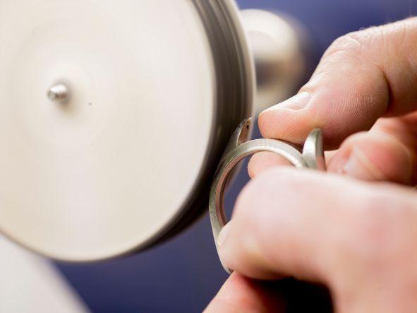 Poliermotor Juwelier Eckstein Revision