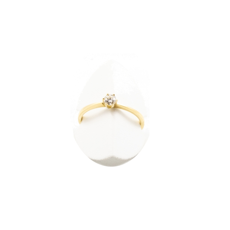 RING 750/-GG 0,15CT, H/SI1 Bril. W53