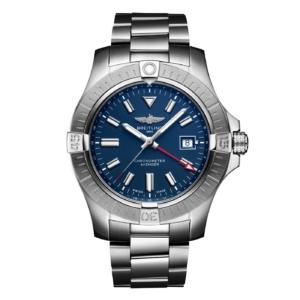 Breitling Uhr blau